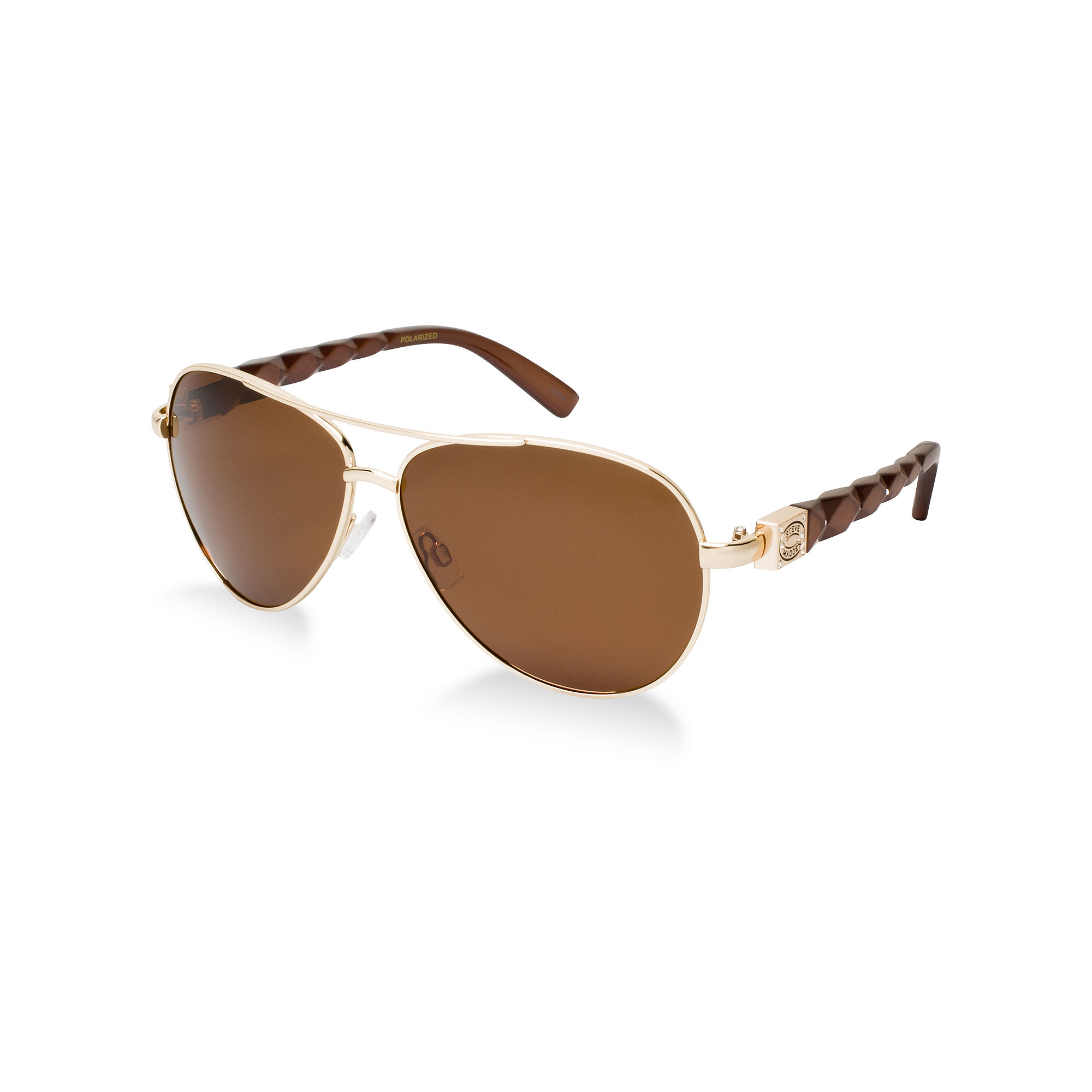 3a1f187fb0 Lyst - Steve Madden Sunglasses in Brown for Men