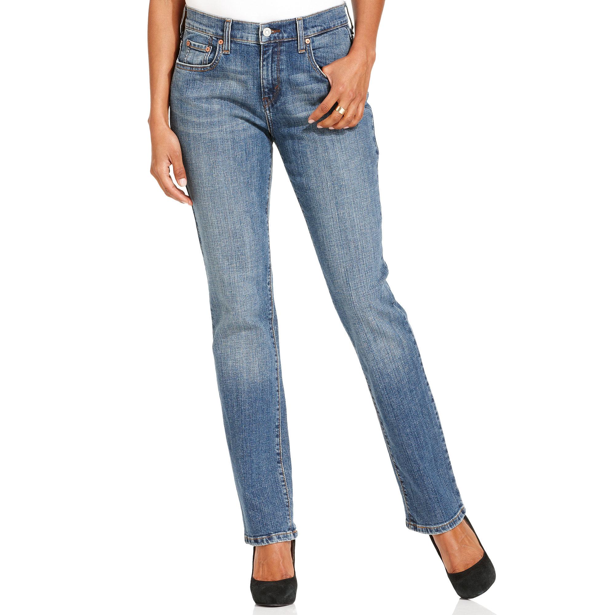 levi 39 s levi s plus boyfriend jeans in blue lyst. Black Bedroom Furniture Sets. Home Design Ideas