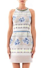 Matthew Williamson Floral Folk Embroidered Dress - Lyst
