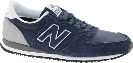 New Balance Navy Suede