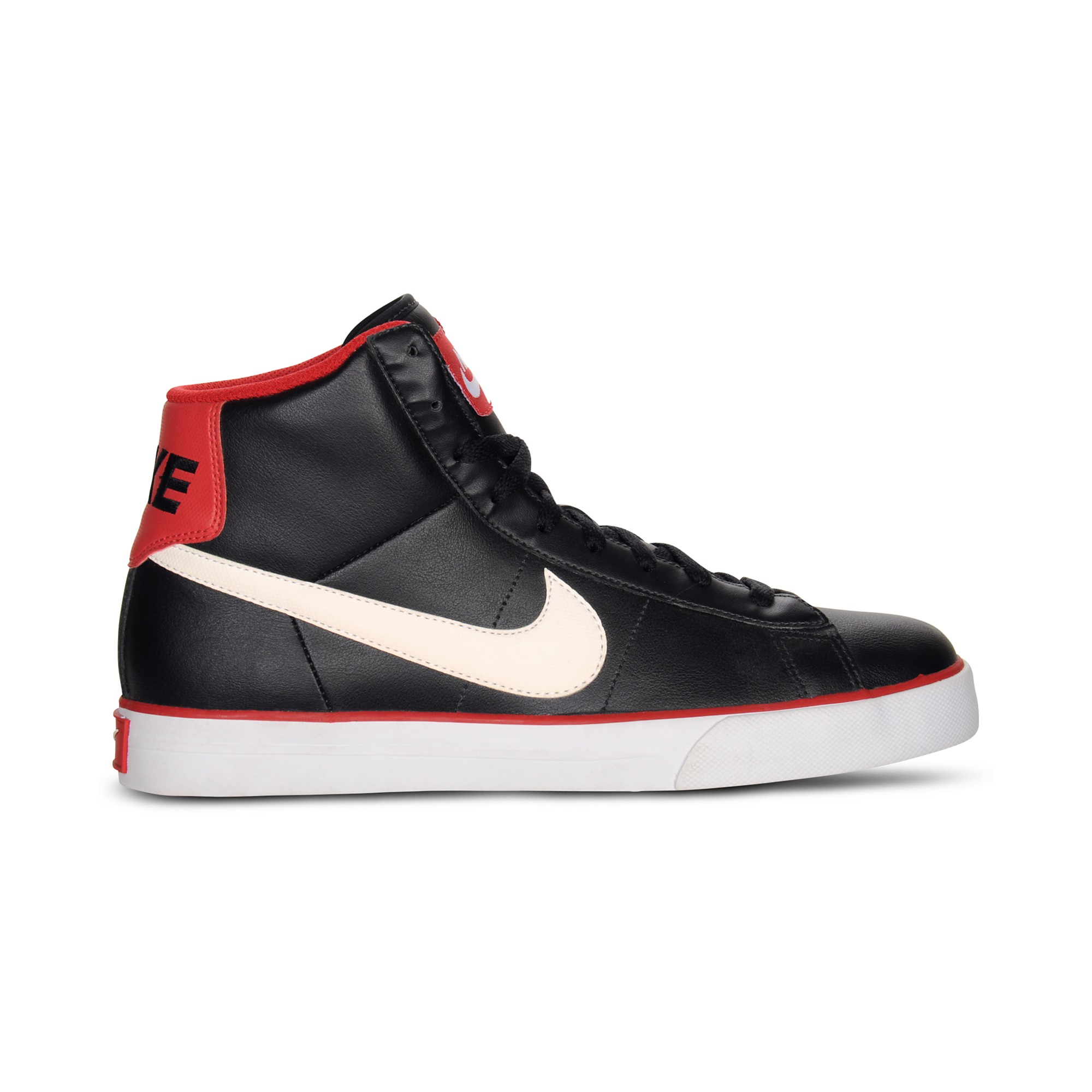 lyst nike sweet classic leather high top sneakers in. Black Bedroom Furniture Sets. Home Design Ideas