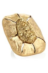 Oscar de la Renta Goldplated Ring - Lyst
