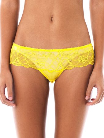 Stella McCartney Giselle Charming Lace Briefs - Lyst
