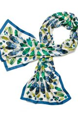 Tory Burch Multi Beetle Scarf - Lyst
