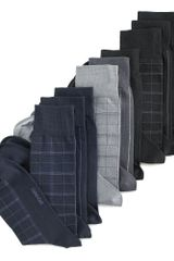 Calvin Klein Microfiber Windowpane Dress 3 Pack - Lyst