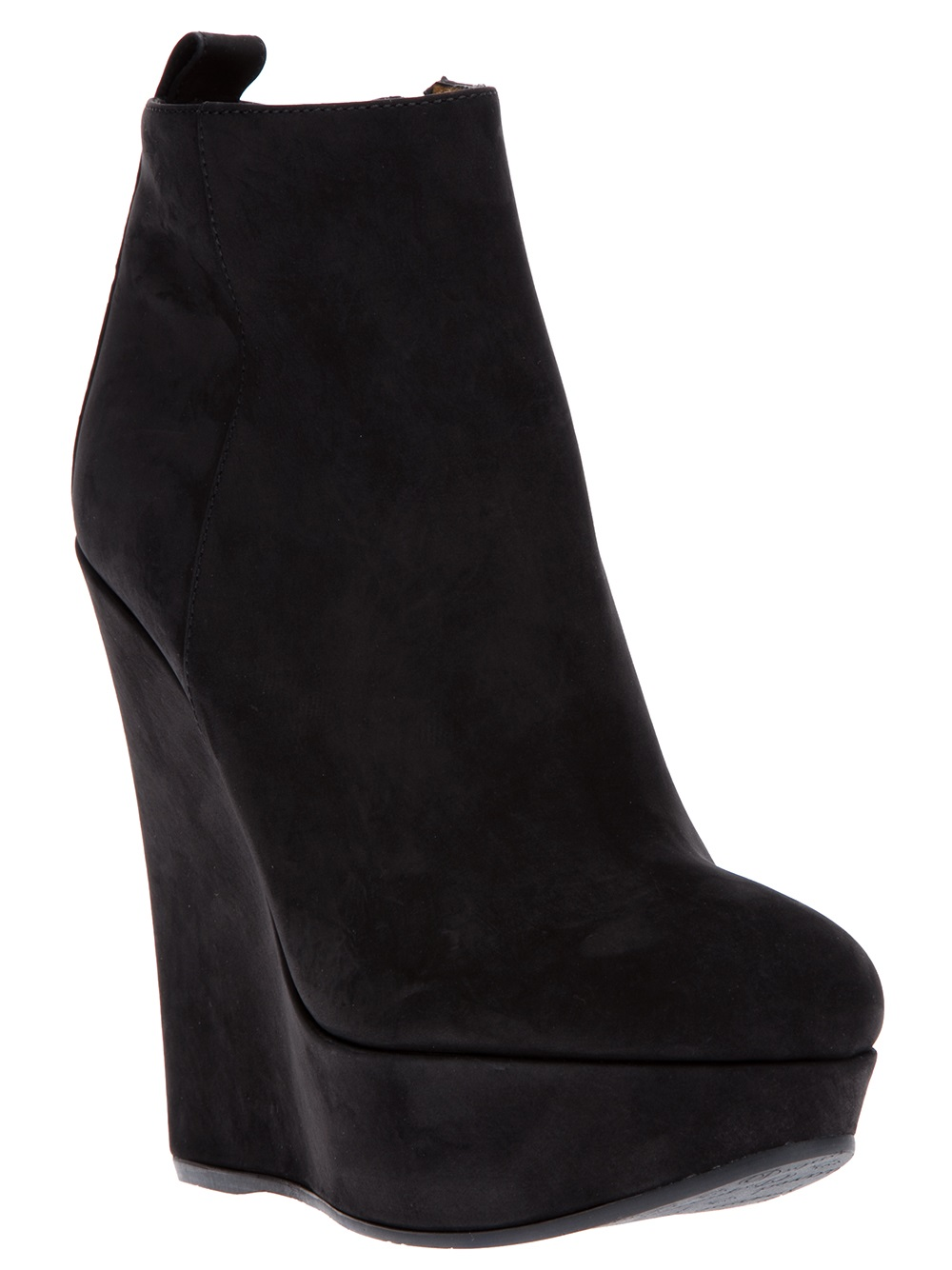 dsquared 178 wedge bootie in black lyst