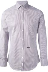 DSquared2 Striped Shirt - Lyst