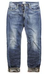 Edwin  Relaxed Dark Blue Jeans - Lyst
