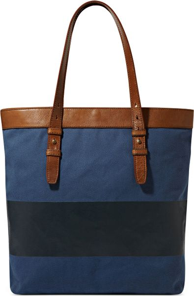 Fossil Utility Canvas Bag in Blue for Men (Green)