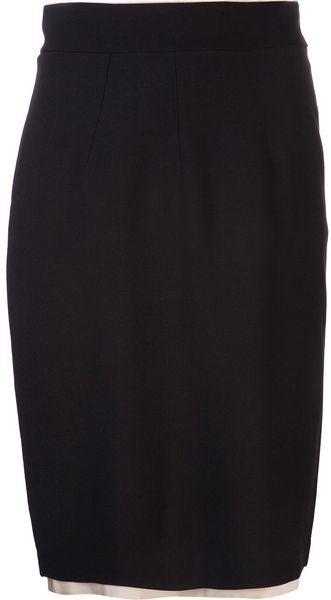 Giada Forte Pencil Skirt - Lyst