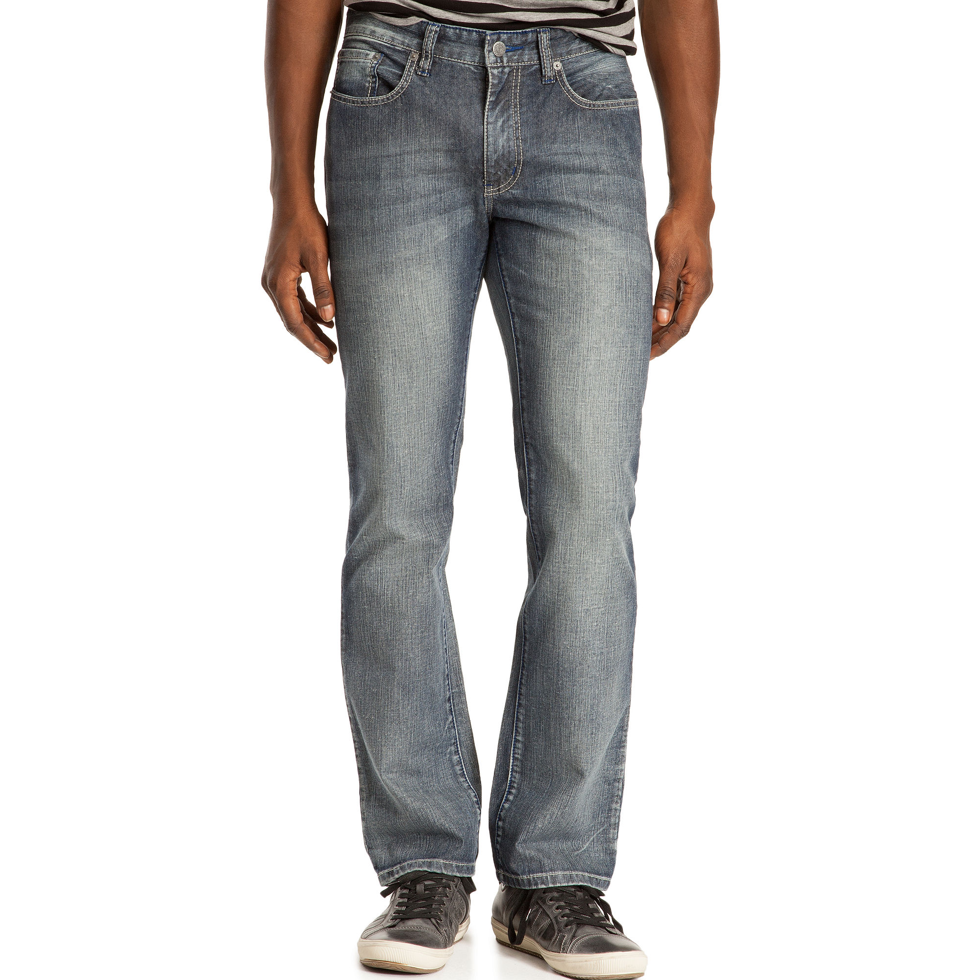 f402a61b Kenneth Cole Reaction Light Wash Straight Leg Jeans in Blue for Men ...