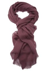 M Missoni Frayed Edges Scarf - Lyst