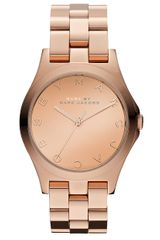 Marc By Marc Jacobs Womens Stainless Steel Rosegold Watch - Lyst
