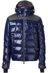 Moncler Grenoble Paneled Padded Jacket - Lyst