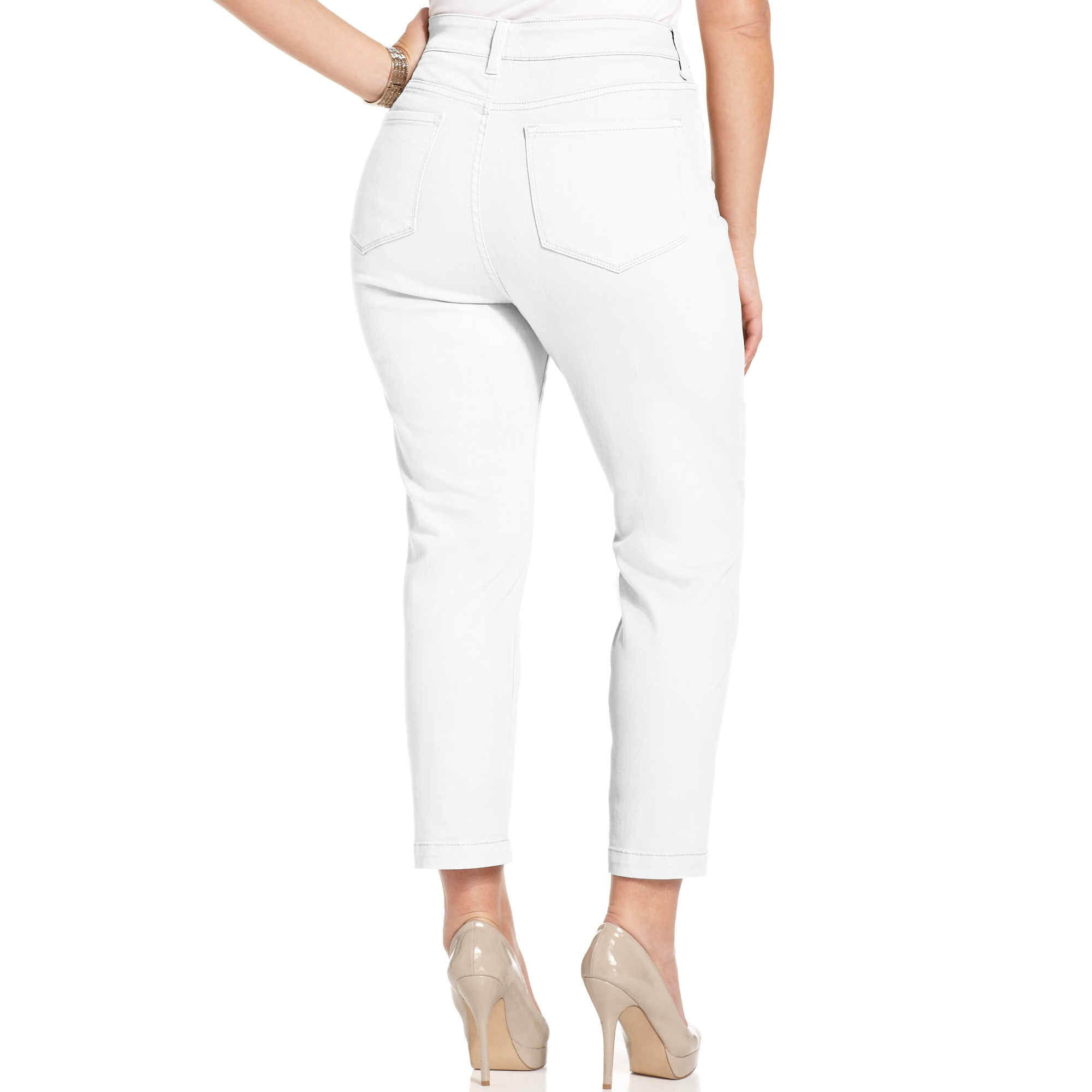 Not your daughter's jeans Nydj Plus Size Jeans Audrey Tummy ...