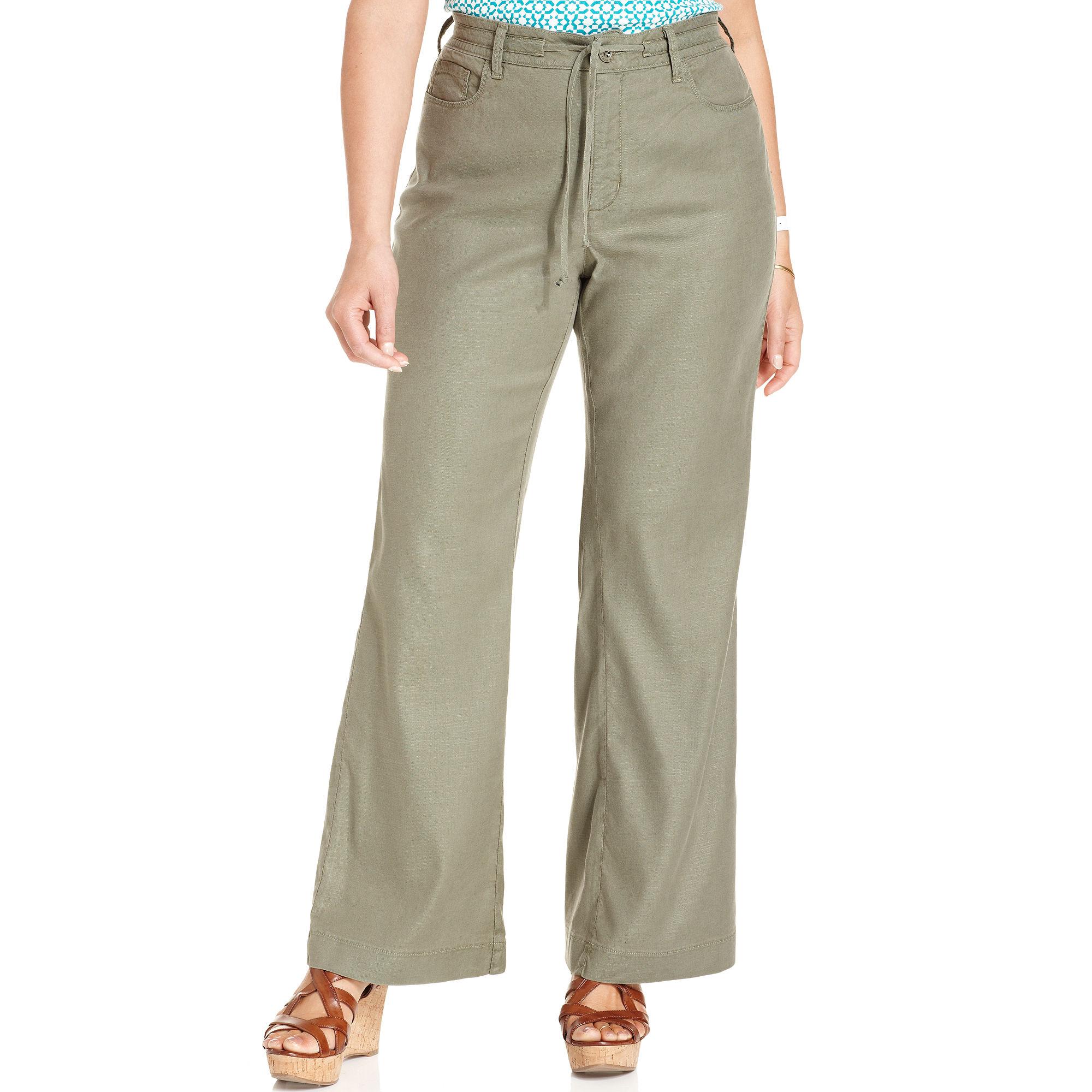 not your daughter 39 s jeans nydj plus size pants lindsey. Black Bedroom Furniture Sets. Home Design Ideas