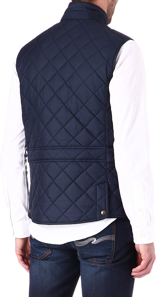 17dd621f80 Ralph Lauren Epson Quilted Gilet in Blue for Men - Lyst