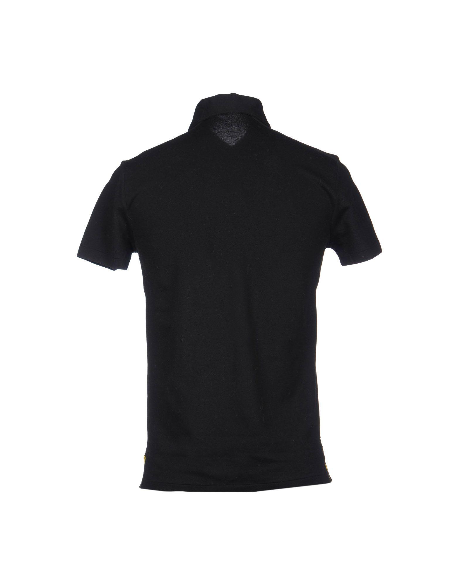 Ralph lauren black label polo shirt in black for men lyst for Ralph lauren black label polo shirt