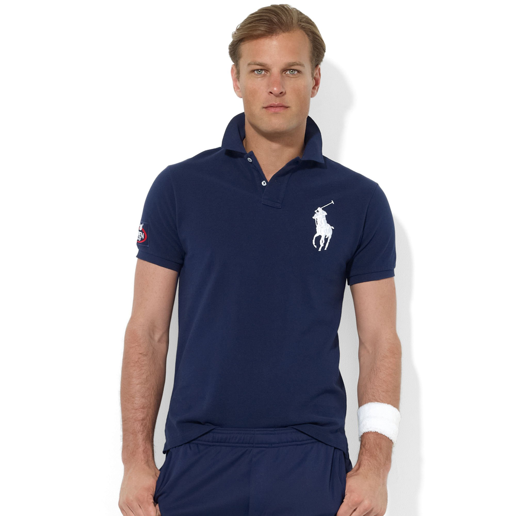 Polo Ralph Lauren Mens Us Open Big Pony Zip Jacket