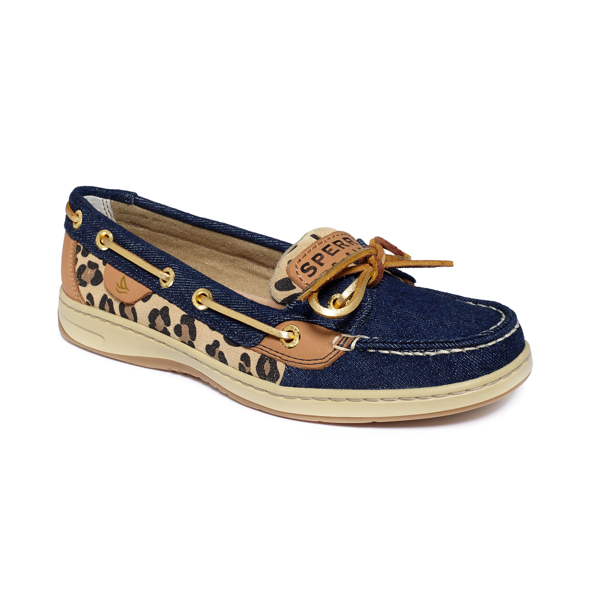 Lyst - Sperry top-sider Angelfish Boat Shoes in Blue