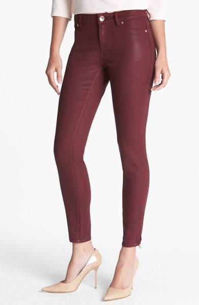 Womens Wax Coated Jeans