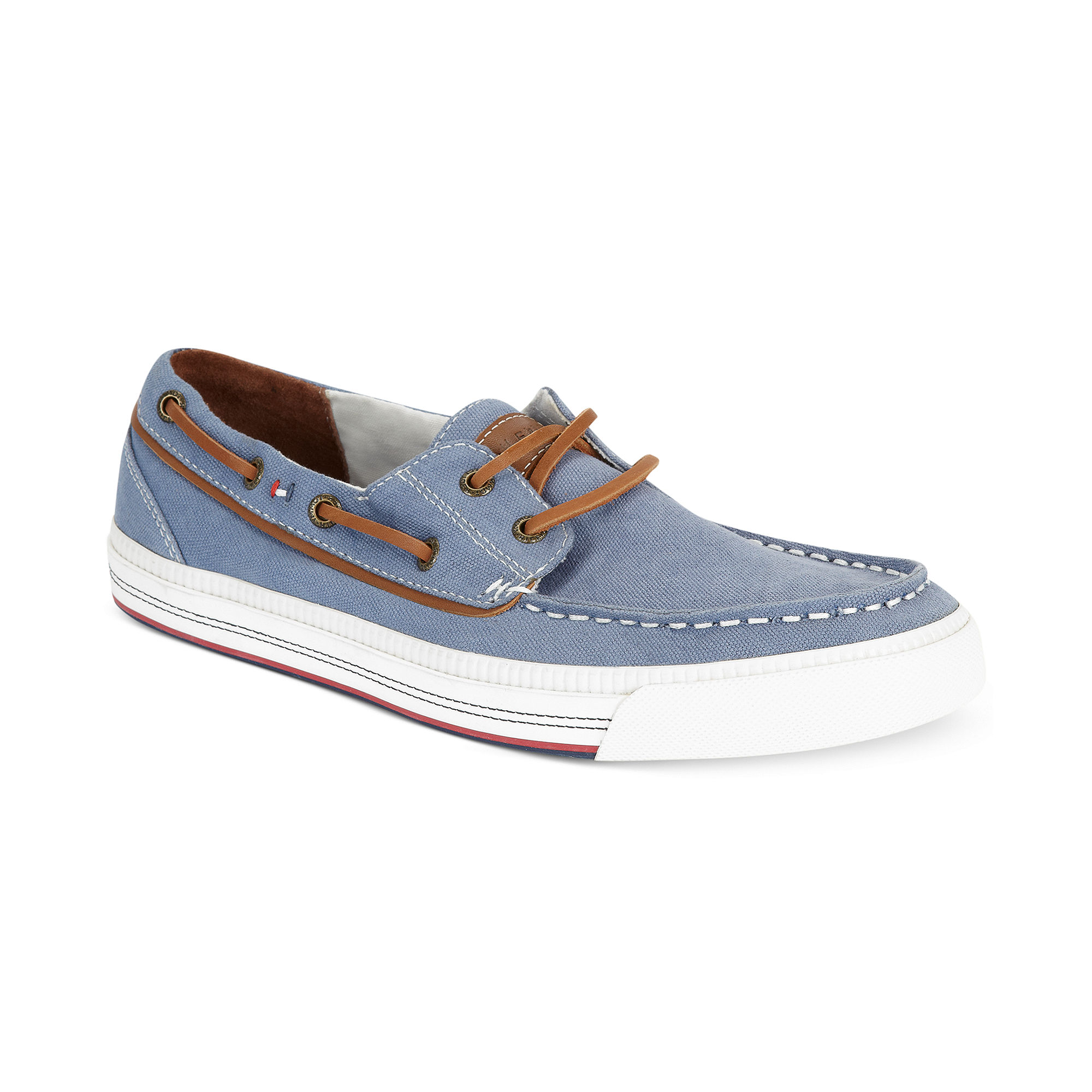 Tommy Hilfiger Griffin Boat Shoes in Blue for Men (medium
