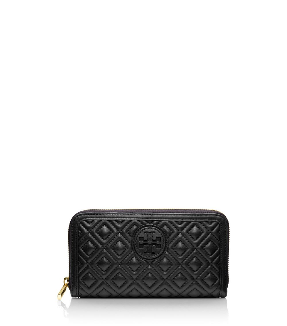 quilted card holder Blue Tory Burch CLlLLx09P - ammo022.com