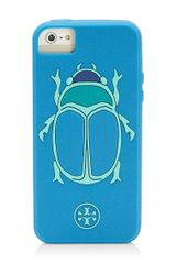 Tory Burch Scarab Silicone Case For Iphone 5 - Lyst