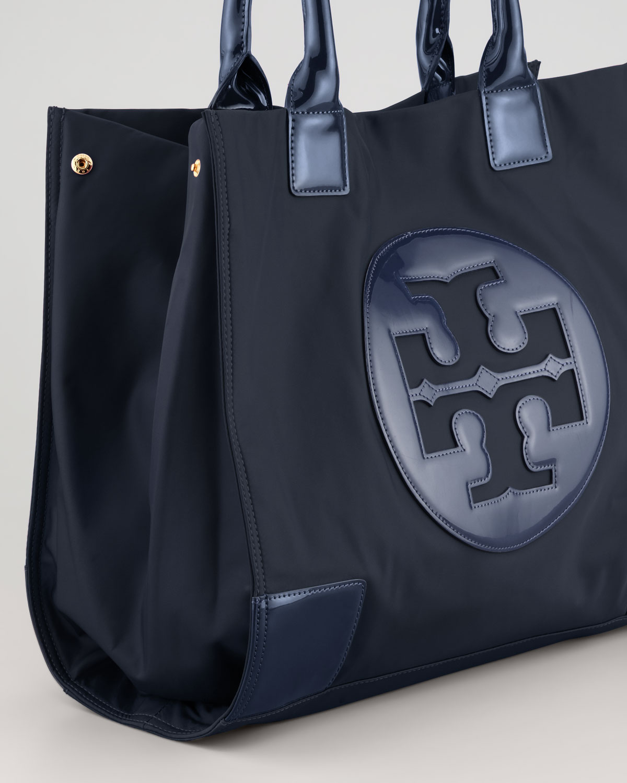 62d5cfdfc379 Lyst - Tory Burch Ella Nylon Tote Bag in Blue
