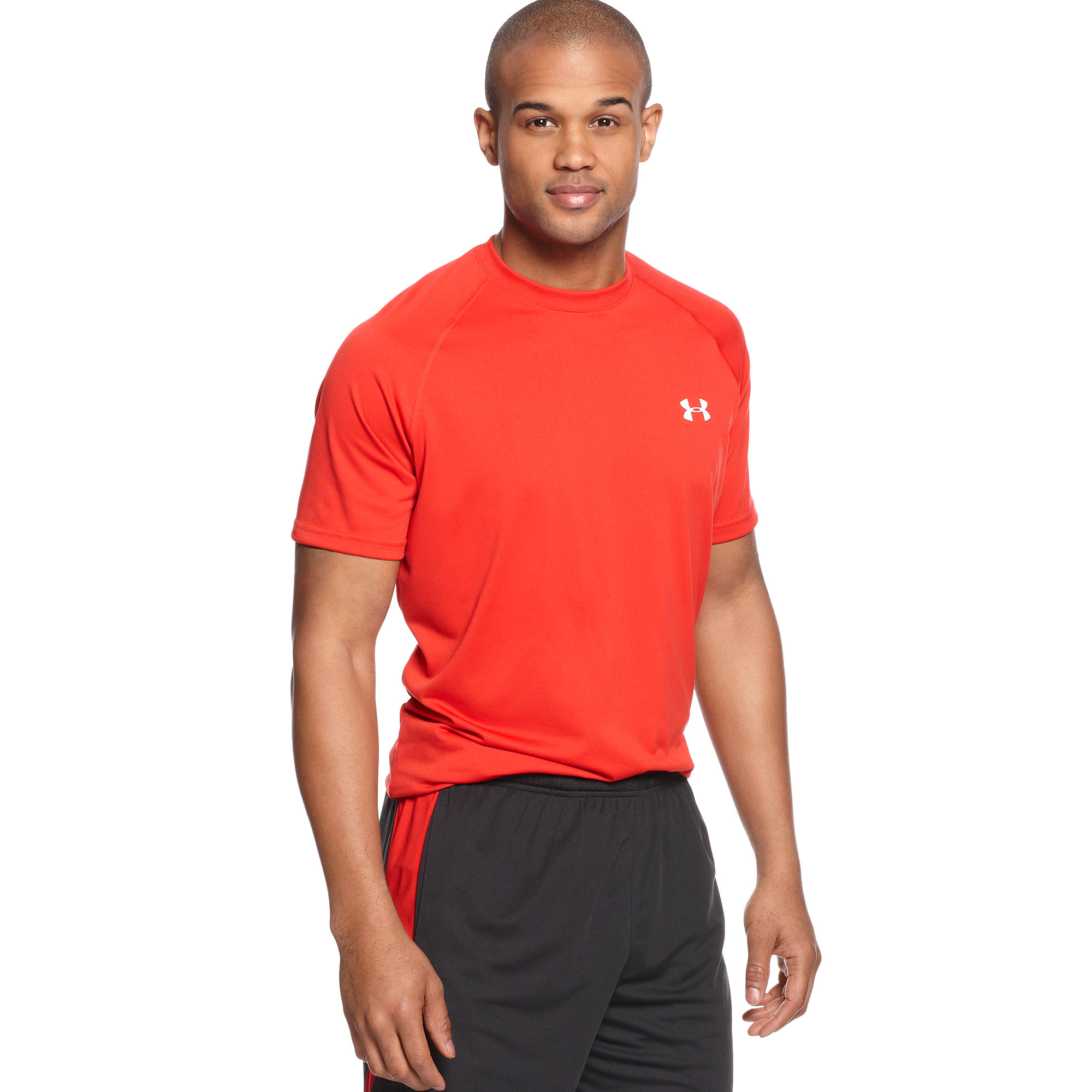 Lyst Under Armour Tech Short Sleeve T Shirt In White For