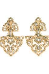 Yves Saint Laurent Vintage Glam Arabesque Earrings - Lyst