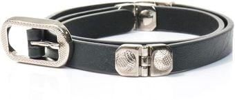 Balenciaga Arena Studded Leather Belt - Lyst