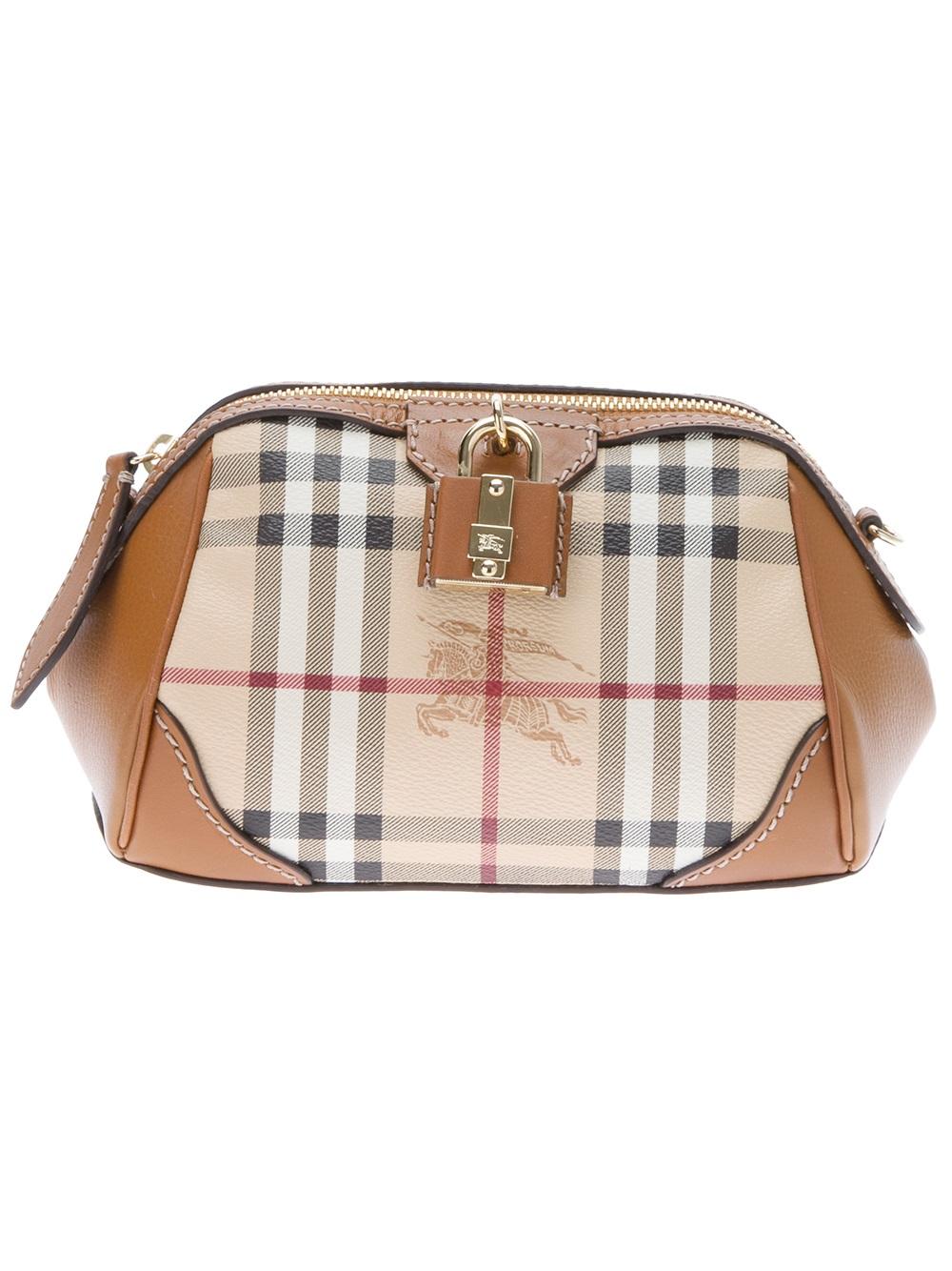 e07761adaa6c Lyst - Burberry Prorsum Mini Blaze Crossbody Bag in Brown