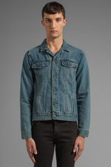 Cheap Monday Staple Denim Jacket in Blue - Lyst