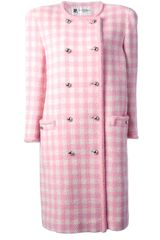 Courreges Vintage Houndstooth Coat - Lyst