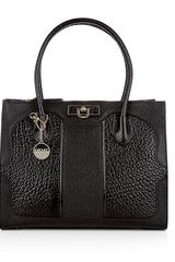 DKNY French Grain Leather Work Shopper - Lyst