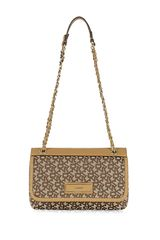 DKNY Town Country Saffiano Flap Cross Body Bag - Lyst
