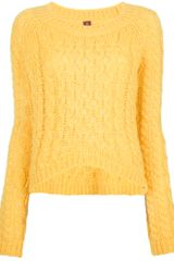 Dondup Burlywood Sweater - Lyst