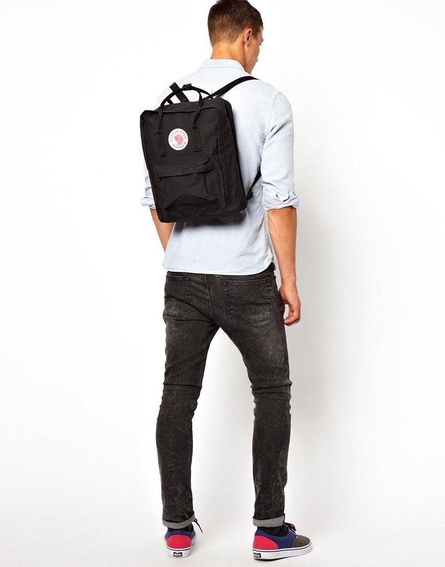 fjallraven kanken all black