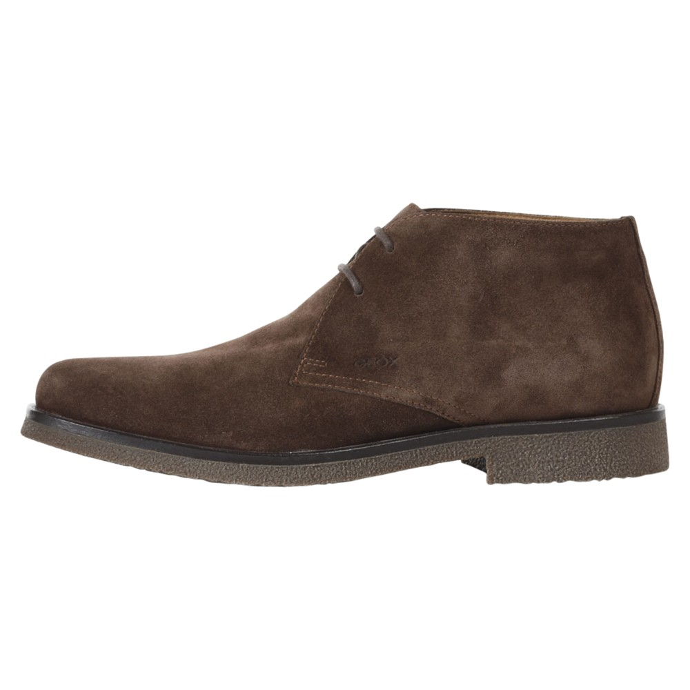 geox claudio suede chukka boots in brown for lyst
