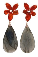 Irene Neuwirth Labradorite Drop Earrings - Lyst
