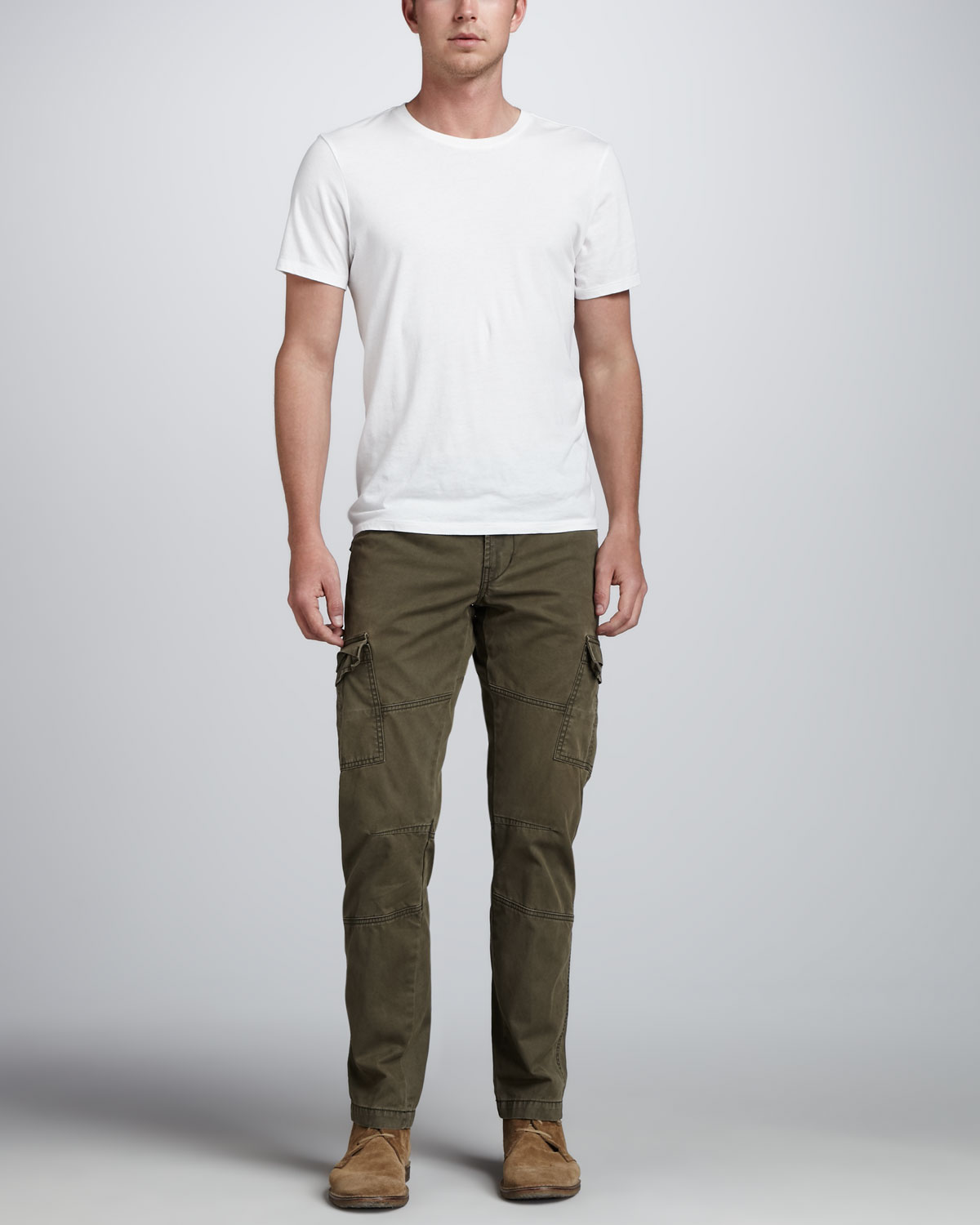 J brand Trooper Hidden Forest Cargo Pants in Green for Men | Lyst