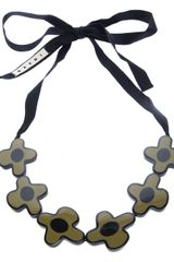 Marni Flower Pendant Necklace - Lyst