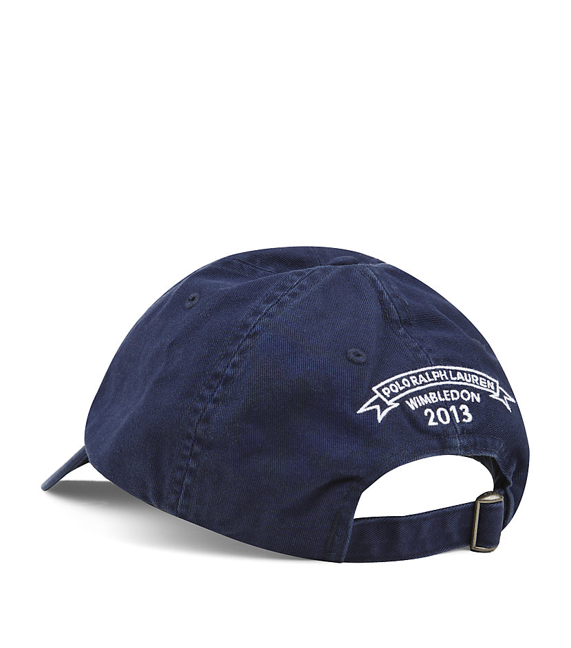 Polo Ralph Lauren Wimbledon Cap in Blue for Men - Lyst 7a96eb3801e