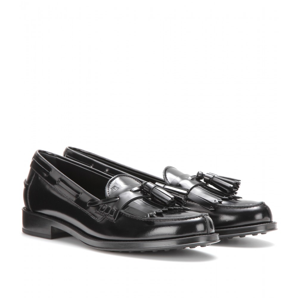 Loafers in Leather Tod's HOkYC
