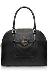 Tory Burch Amanda Dome Satchel - Lyst