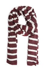 Mango Lurex Striped Muffler - Lyst