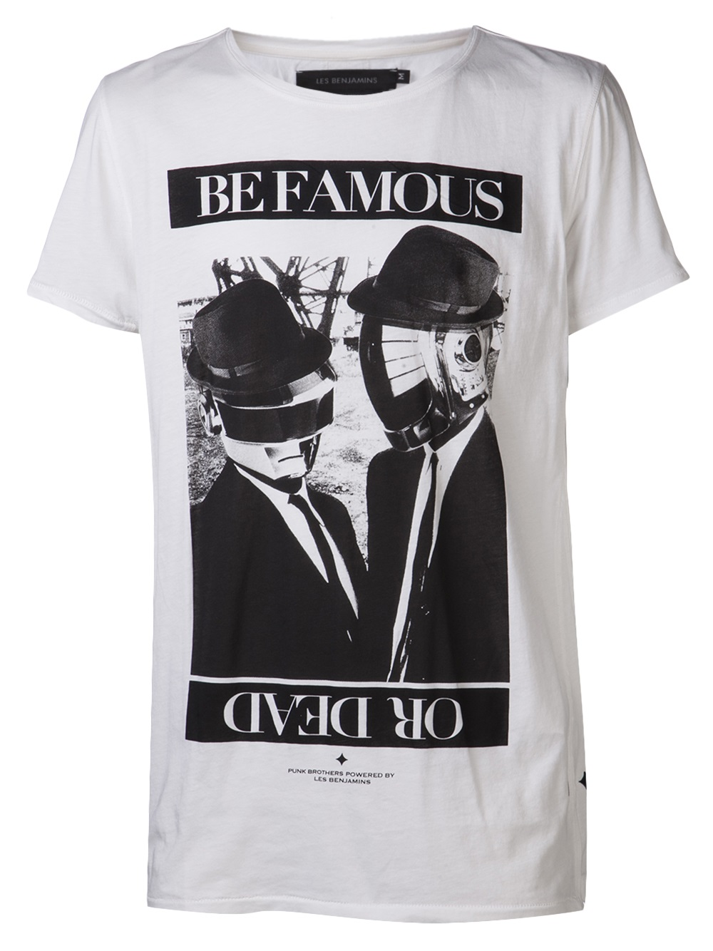 Les Benjamins Be Famous Or Die Cotton-jersey T