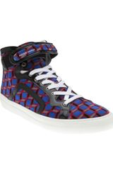 Pierre Hardy High Top Sneakers - Lyst