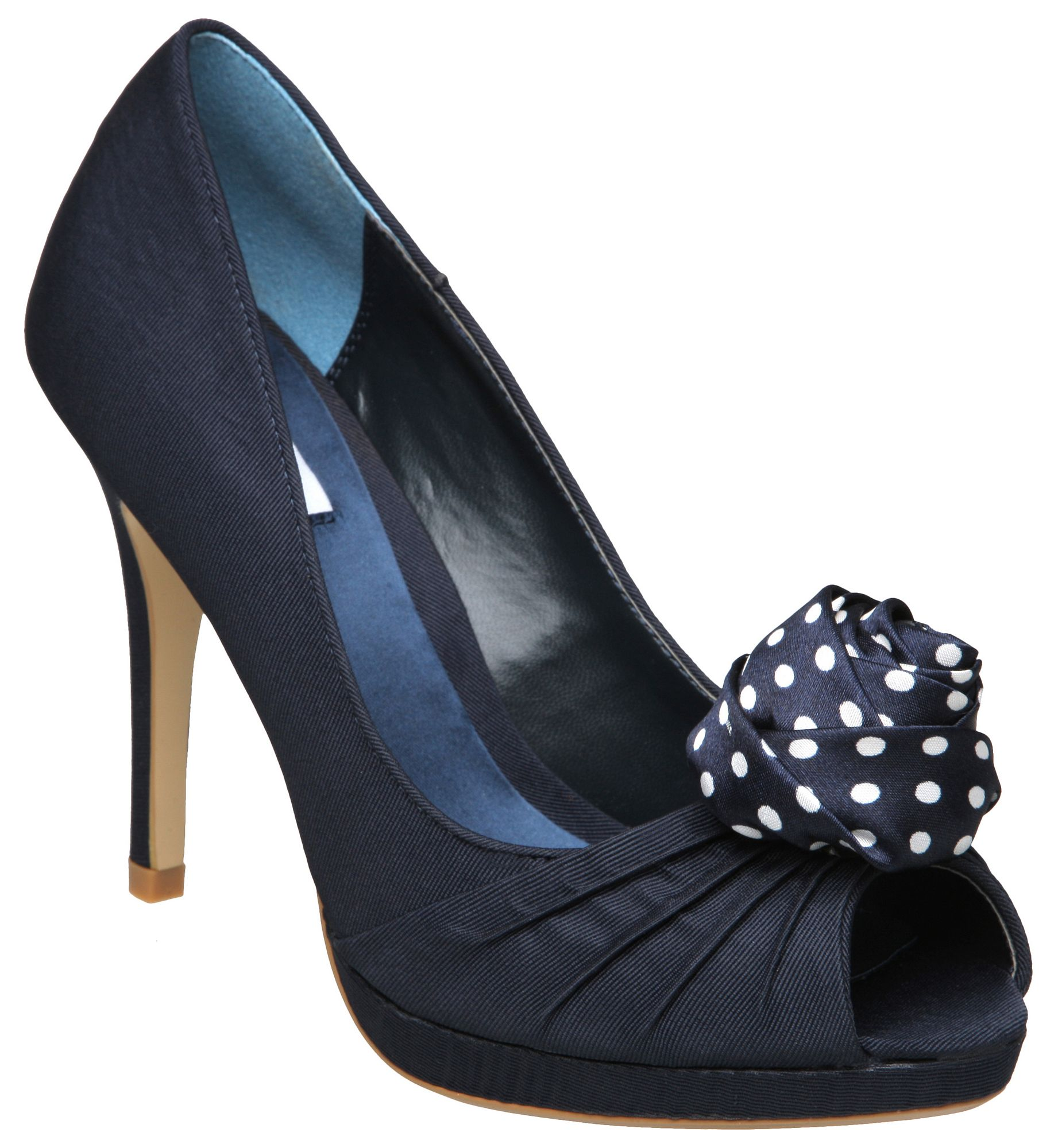 Polka dot shoes are the height of kitsch, which means they provide a lovely accessory to any retro pop-punk or bubblegum pop ensemble. Women's polka dot shoes, most often rubber-soled canvas sneakers or slip-ons, are a good addition to any funky wardrobe looking to vary its palette of patterns.